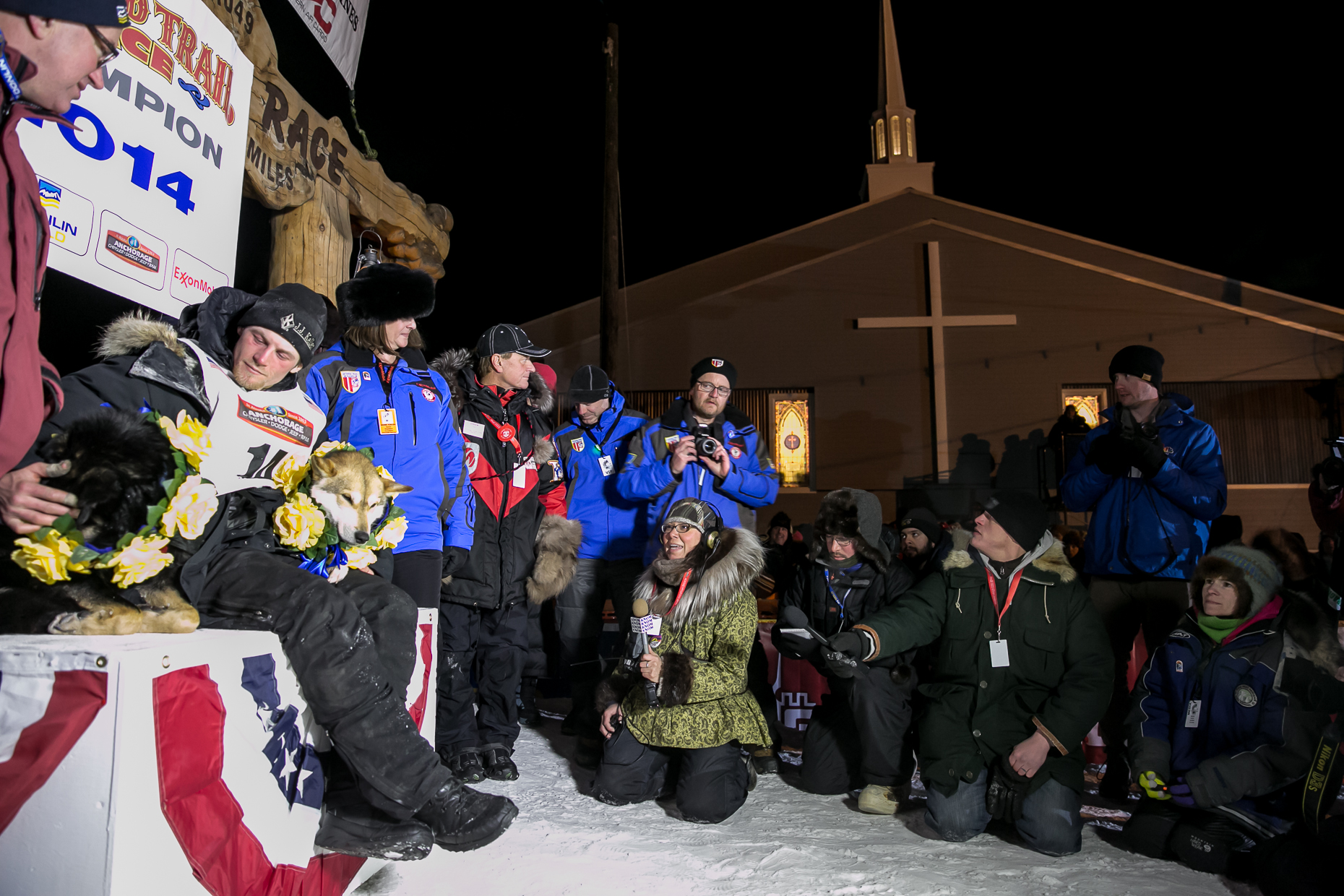 Iditarod finish Dallas Seavey